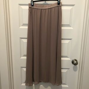 Old Navy Beige Maxi Skirt, Size XS
